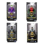 Coleção Bonecos Do Batman Dc Universe 4 Figuras - Sunny 2187