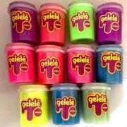 Gelelé Slime -kit Com 10 - Variados, Com E Sem Glitter