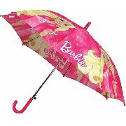 Guarda Chuva Infantil Barbie Rosa 86cm - Zippy Toys 5425 full