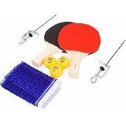 Kit Tenis De Mesa 2 Raquetes 3 Bolas E Rede - Vollo FULL