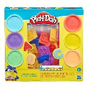 Massinha Play-doh Moldes De Letras - Hasbro Original