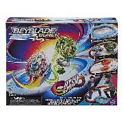 Arena Beyblade Vertical Drop C/ 2 Beyblade - Hasbro E7609 full