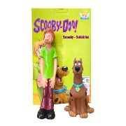 Boneco Scooby Doo E Salsicha Em Vinil - Angel
