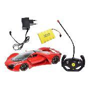 Carrinho De Controle Remoto Recarregável 30cm - Dm Toys