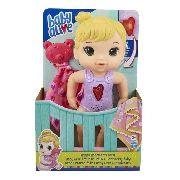 Baby Alive Coraçãozinho Loira Boneca Com Falas - Hasbro FULL