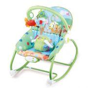 Cadeira Bebê Descanso Vibratória Musical Balanço Selva