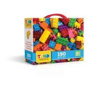 Blocos De Montar Tand Kids - Maleta 150 Peças Original