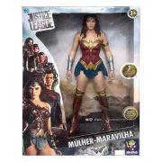 Boneco Mulher Maravilha Gigante Liga Da Justiça 45 Cm Mimo