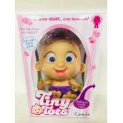Tiny Tots Boneco Interativo Com Chupeta Lilás - 8801