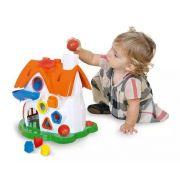 Brinquedo Didático Casinha De Atividades Divertida Play Time- Cotiplas