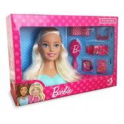 Barbie Boneca De Pentear Styling Head Com Acessórios Pupee