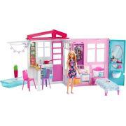 Barbie Casinha Glam Com Boneca 30 Cm Mattel - Fxg55