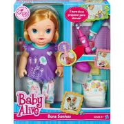 Boneca Baby Alive BC Bons Sonhos Loira Hasbro 8348