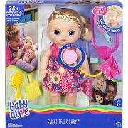 Boneca Baby Alive Doces Lágrimas Loira - Hasbro