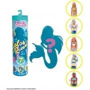 Boneca Barbie Color Reveal Série 4 Sereias Surpresa Mattel