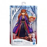 Boneca da Frozen 2 Anna Singing Lançamento - Hasbro E6853 FULL