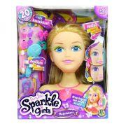 Boneca Funville Sparkle Girlz Maquiadora Loira - Dtc 4222