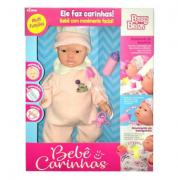 Boneca Interativa Bebê Carinhas Movimento Facial 1830 - Baby