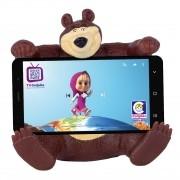 Masha e Urso Suporte Celular Infantil Urso - Cotiplas 2466