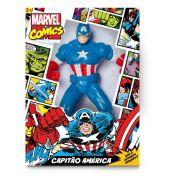 Boneco Capitão America Classico Marvel Comics 45cm - Mimo