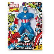 Boneco Capitão America Comics