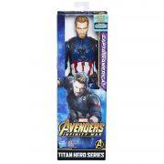 Boneco Capitão América Titan Hero Guerra Infinita - Hasbro