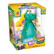 Boneco Dinossauro Mundo Bita Vinil 20 cm - Lider