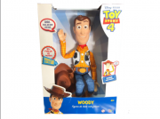 Boneco Xerife Woody Macio Com Falas Toy Story 4 - Toyng