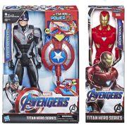 Bonecos  Kit Capitão America + Homem de Ferro Ultimato