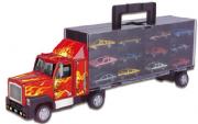 Brinquedo Carreta Cegonha Com 12 Carrinhos Maleta - Braskit