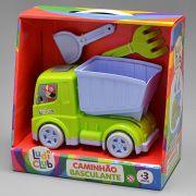 Brinquedo Educativo Caminhão Basculante Ludi Club - Usual