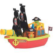 Brinquedo Infantil Barco Aventura Pirata - Mercotoys 424