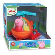 Brinquedo Infantil Helicóptero Da Peppa Pig - Elka