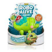 Brinquedo Robo Alive Cocodilo Junior Nada e Anda Candide