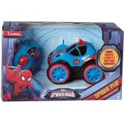 Carrinho Controle Remoto Homem Aranha Spider Flip Candide