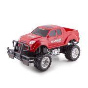 Carrinho de Controle Remoto Monster Truck - Polibrinq Vermelho