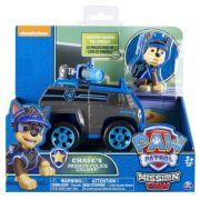 Brinquedo Patrulha Canina Mission Paw Boneco Veiculo Chase - Sunny
