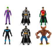Coleção Bonecos Batman Caped Crusader 6 Figuras - Sunny 2182