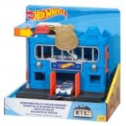 Hot Wheels City Pista Delegacia De Policia Mattel - FMY95