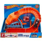 Hot Wheels City Pista Ponte De Cobra Original - Mattel Gjk88