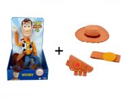 Kit Boneco Xerife Woody e Acessórios de Xerife Toy Story 4