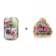 Kit Poopsie Slime Cutie Tooties + Sparkly Critters - Candide