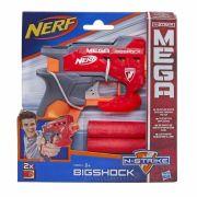 Lança Dardo Nerf N-Strike Mega BigShock Hasbro Vermelho