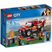 LEGO City - Caminhão do Chefe dos Bombeiros - 201 Peças