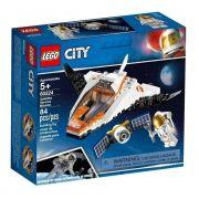 Lego City Nave Missão De Assistência Satélite 84 Pçs - 60224