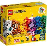 LEGO Classic 450 Peças  Janelas da Criatividade 11004