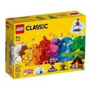 Lego Classic Blocos E Casas 270 Peças - 11008