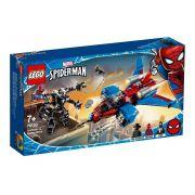 Lego Homem Aranha Spiderjet Vs Robo Venom 371 Peças Original