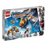 Lego Marvel Resgate De Helicóptero Hulk Vingadores 482 Peças