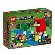 LEGO Minecraft - Fazenda de Lã - 260 Peças